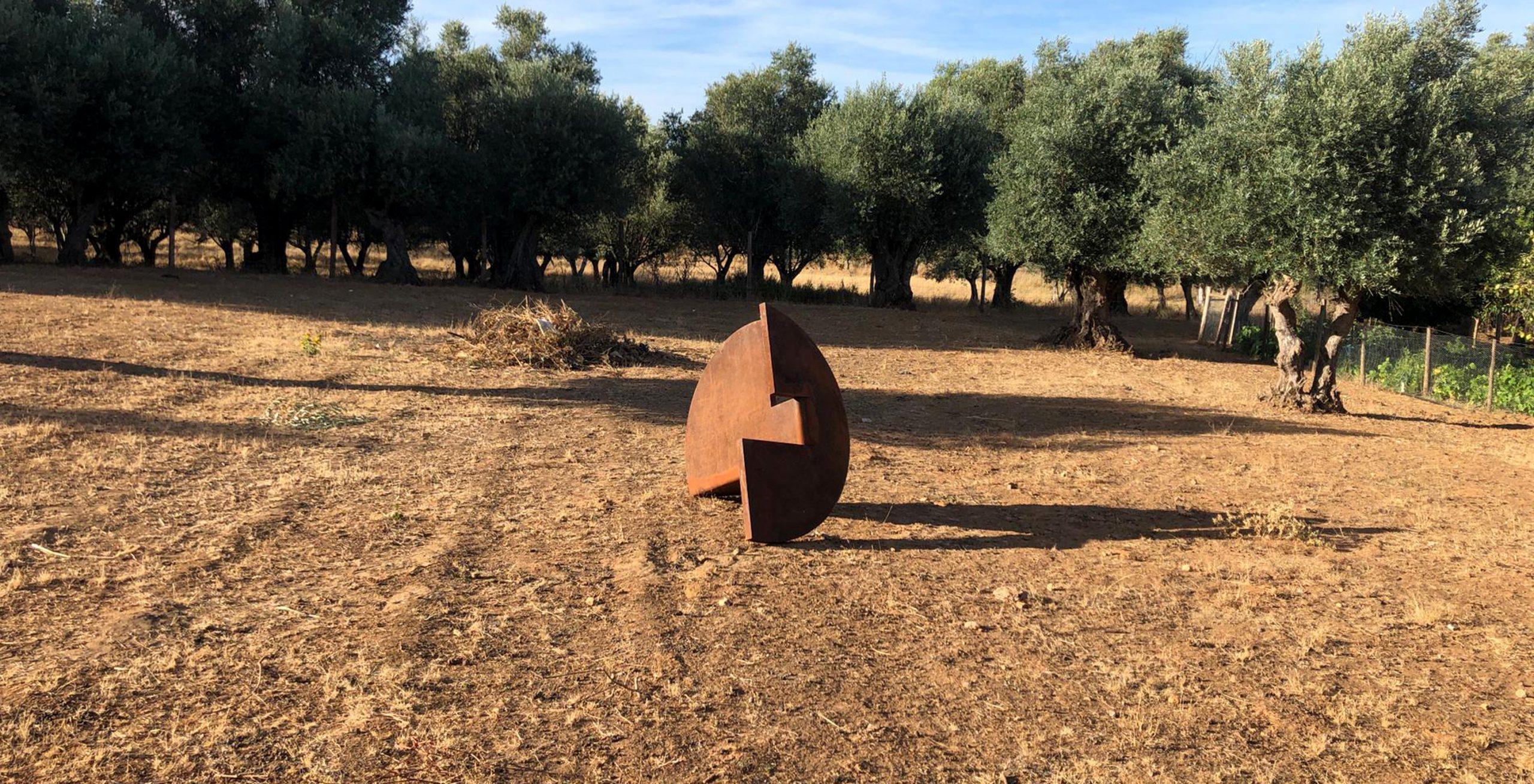 Spatial Circles   Urban Sculptures 1.5 m diameter (50 mm solid steel)   1 Ton   2019-2020